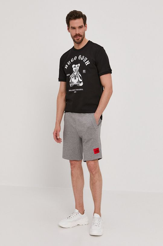 Hugo - Pantaloni scurti gri deschis