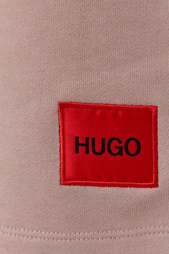 brudny róż HUGO - Szorty 50448937