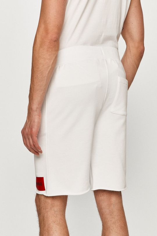 Hugo - Pantaloni scurti alb