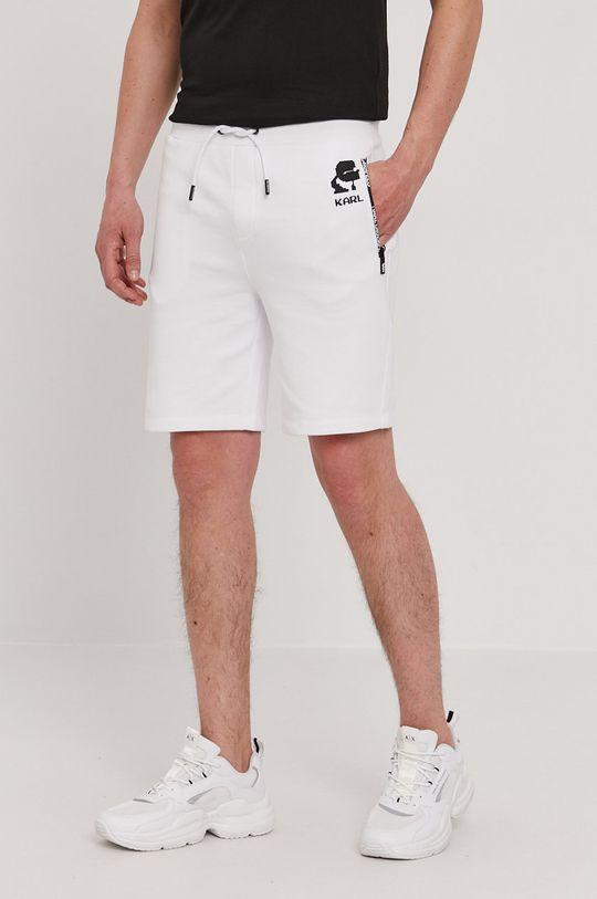 biały Karl Lagerfeld - Szorty Męski