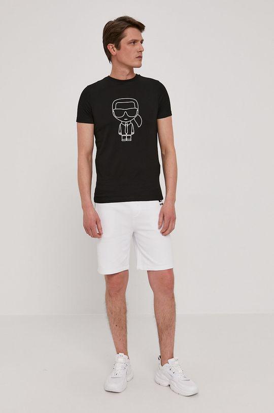 Karl Lagerfeld - Szorty biały