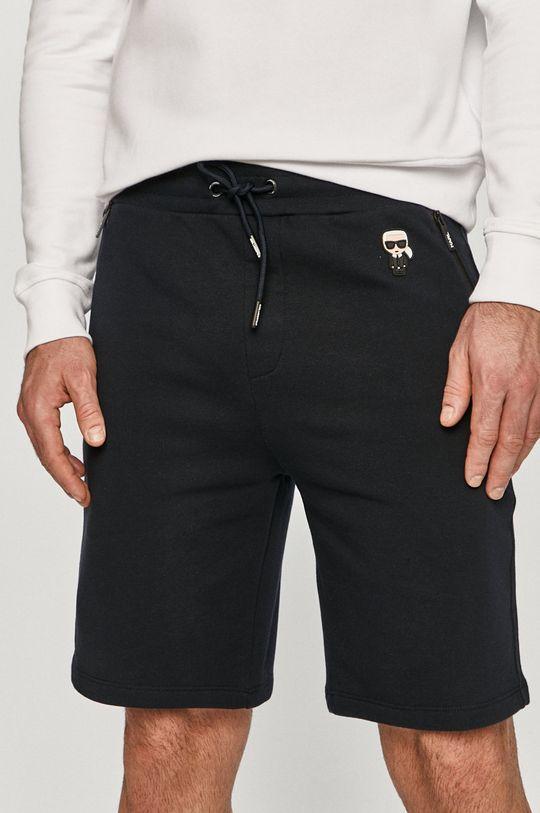 granatowy Karl Lagerfeld - Szorty Męski