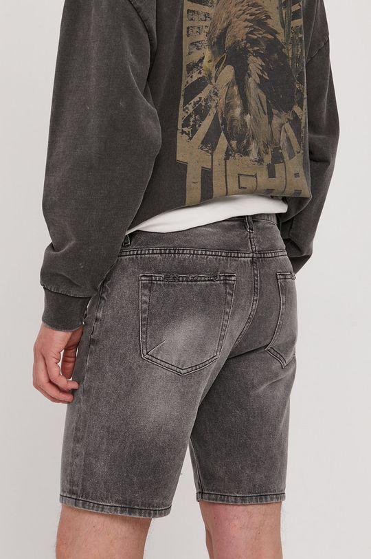 Tigha - Rifľové krátke nohavice Ley  100% Bavlna