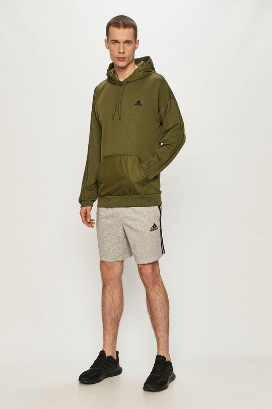 adidas - Szorty jasny szary