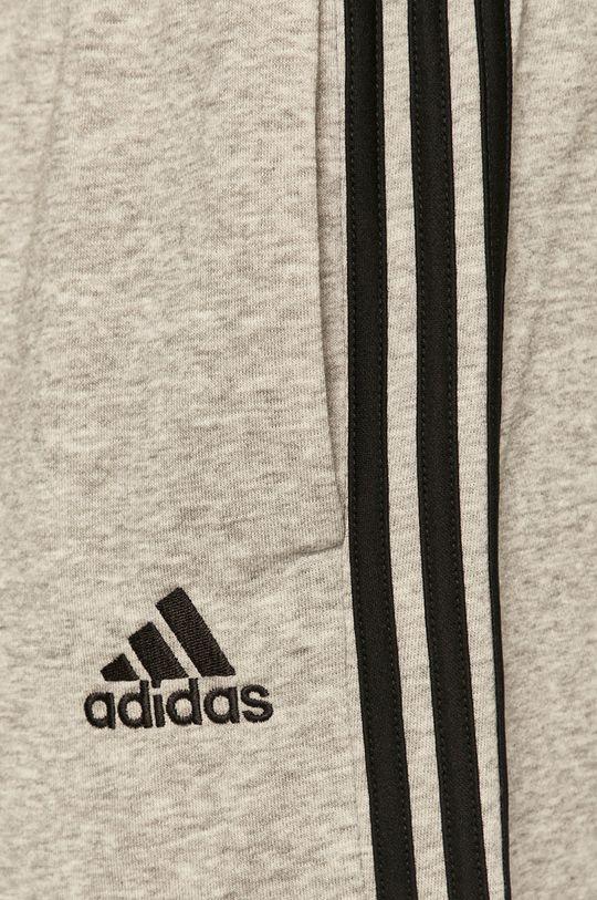 jasny szary adidas - Szorty