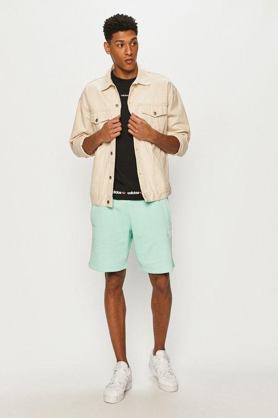adidas Originals - Szorty jasny turkusowy