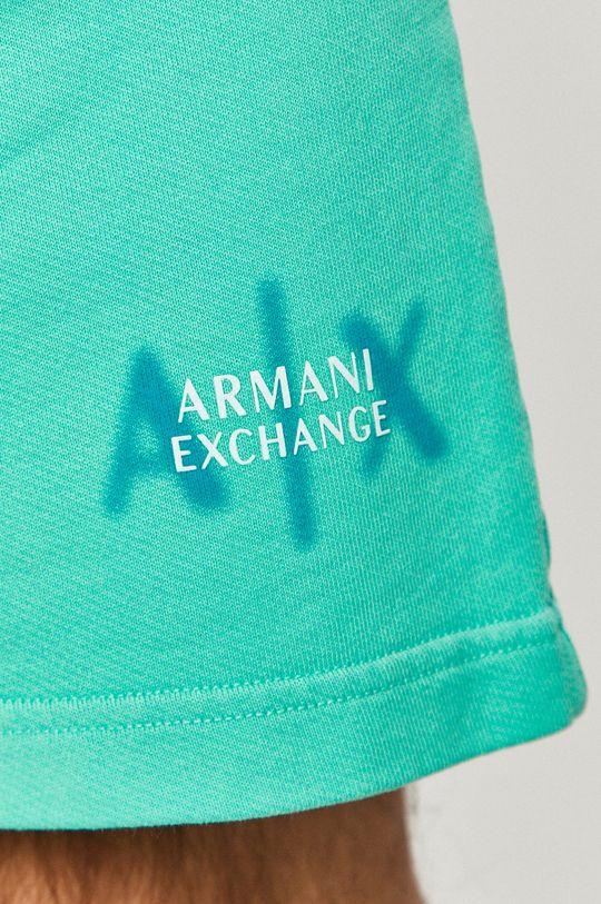 jasny turkusowy Armani Exchange - Szorty