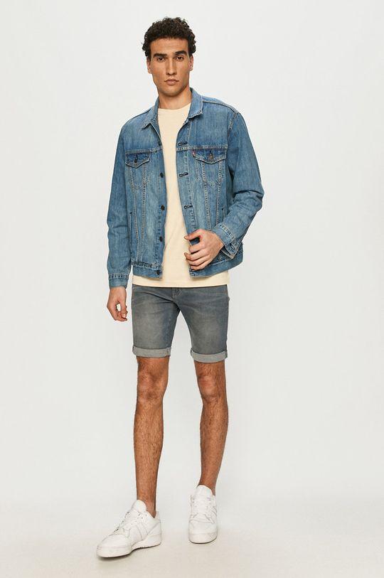 G-Star Raw - Džínové šortky námořnická modř