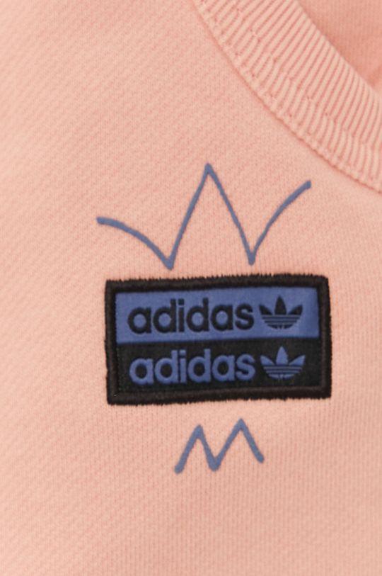korálová adidas Originals - Kraťasy
