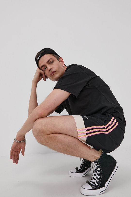 czarny adidas Originals - Szorty Męski