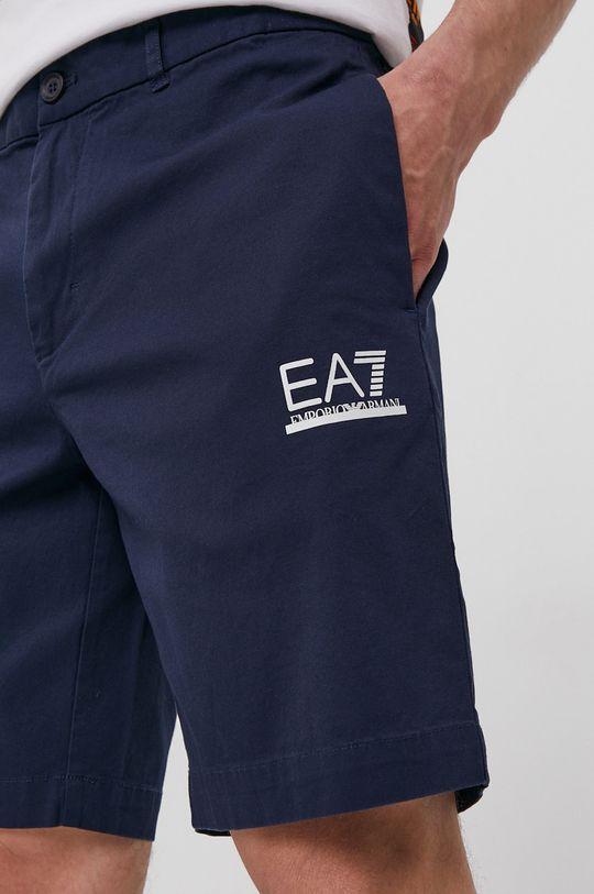 námořnická modř EA7 Emporio Armani - Kraťasy