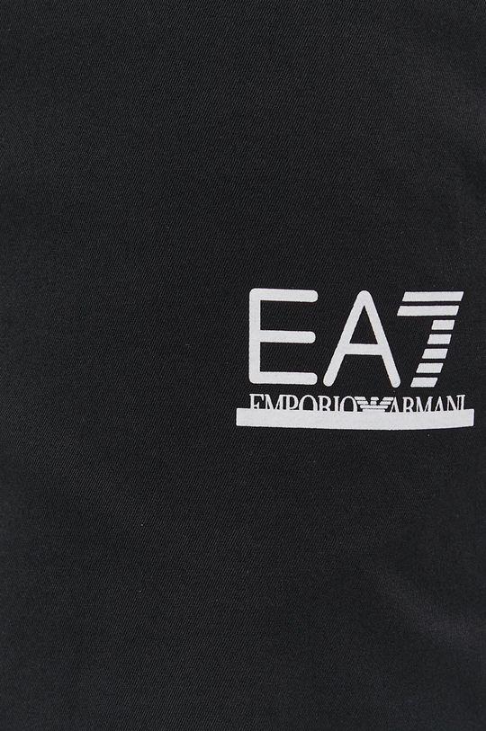 czarny EA7 Emporio Armani - Szorty