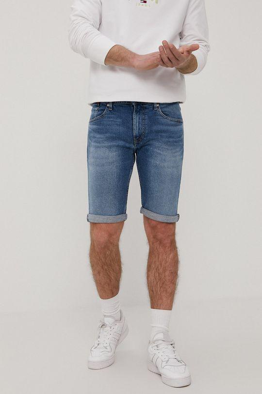 niebieski Tommy Jeans - Szorty jeansowe Męski