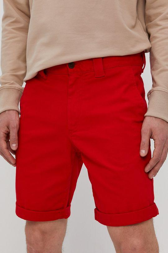 czerwony Tommy Jeans - Szorty Męski