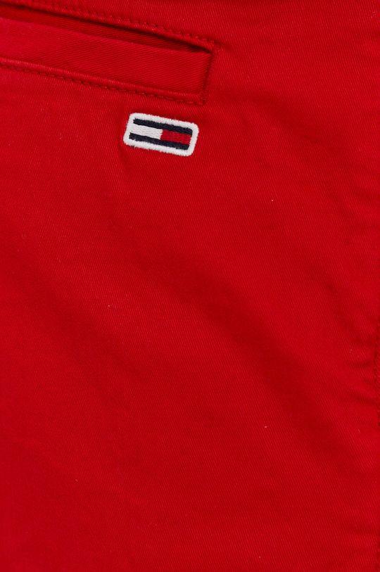 czerwony Tommy Jeans - Szorty