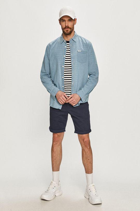 Tommy Jeans - Kraťasy námořnická modř