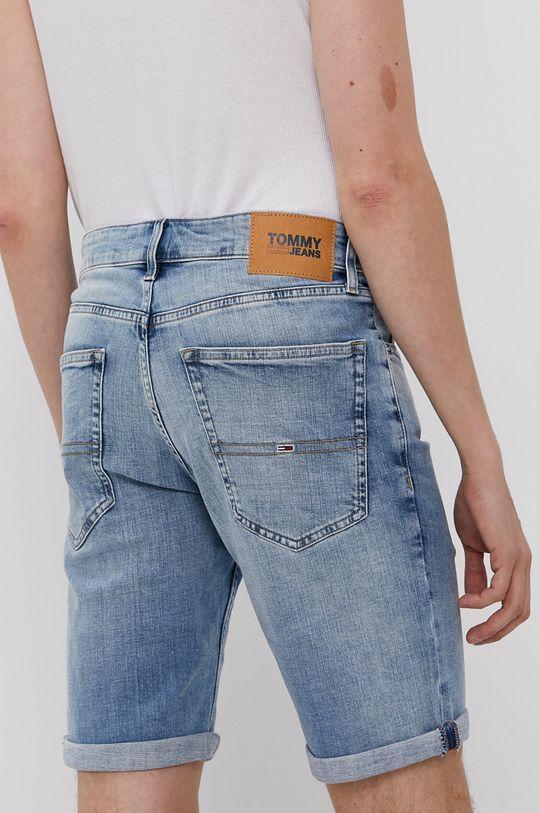 Tommy Jeans - Rifľové krátke nohavice  98% Bavlna, 2% Elastan