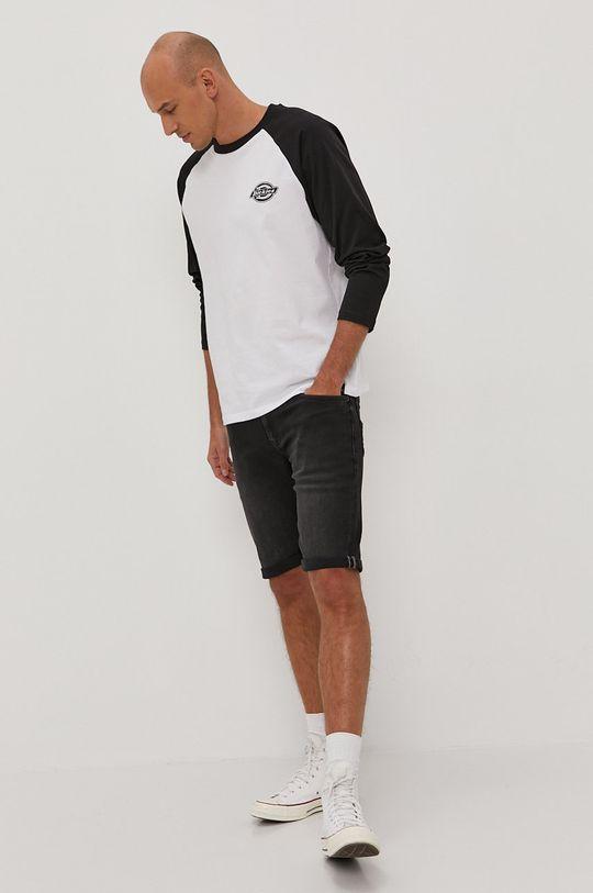 Tommy Jeans - Džínové šortky černá