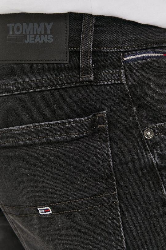černá Tommy Jeans - Džínové šortky