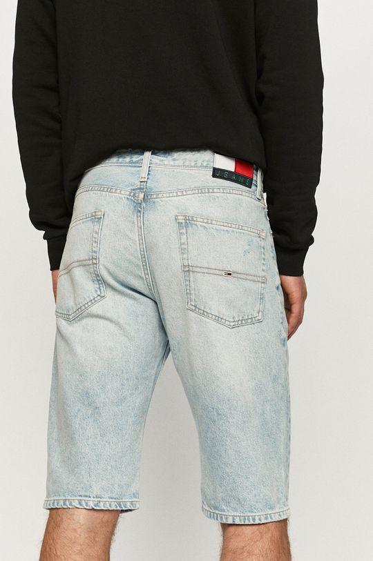 Tommy Jeans - Rifľové krátke nohavice  100% Recyklovaná bavlna