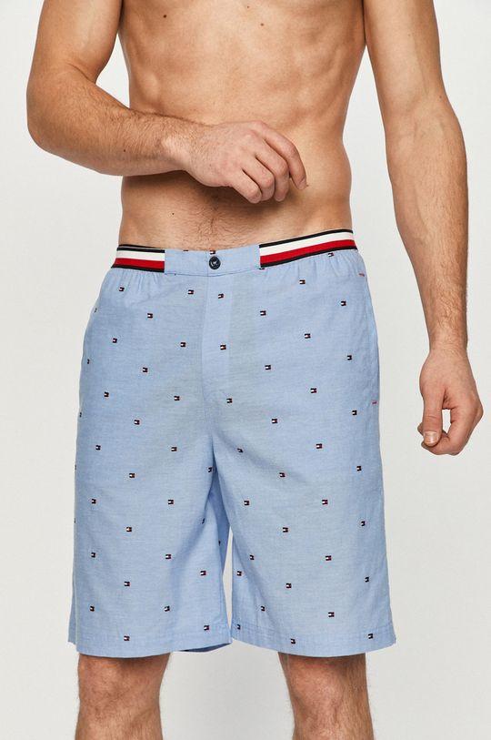 modrá Tommy Hilfiger - Pyžamové šortky Pánsky