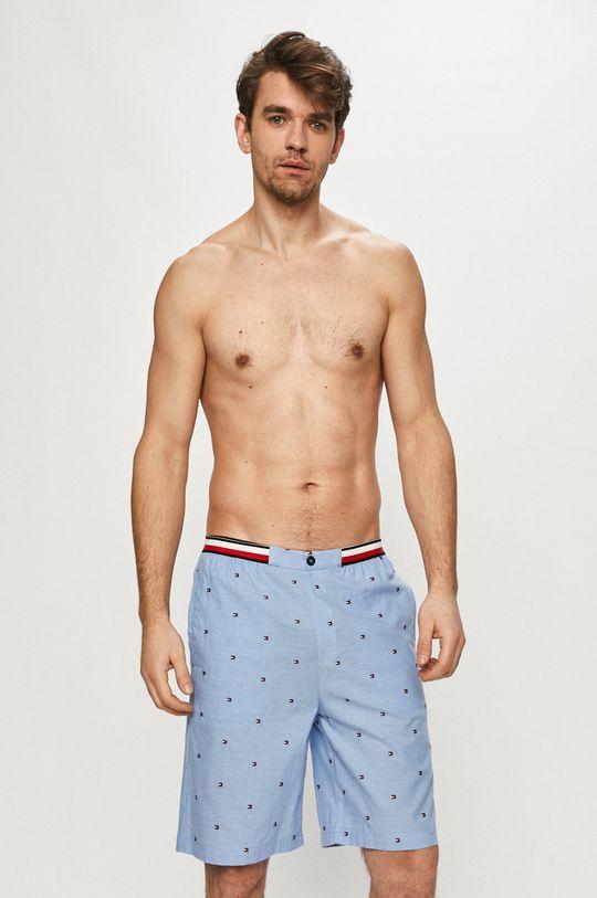 Tommy Hilfiger - Pyžamové šortky modrá