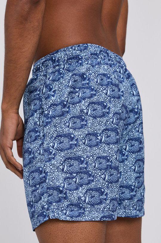 Selected - Plavkové šortky námořnická modř