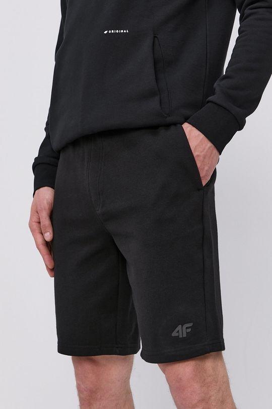 čierna 4F - Šortky Pánsky