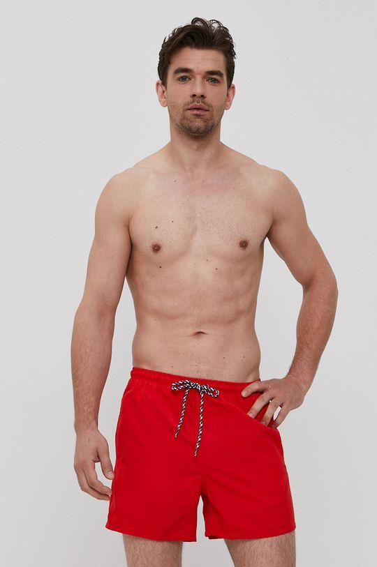 červená Only & Sons - Plavkové šortky Pánský