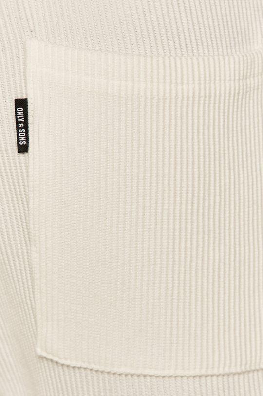 biały Only & Sons - Szorty
