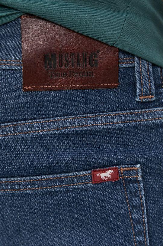 niebieski Mustang - Szorty jeansowe