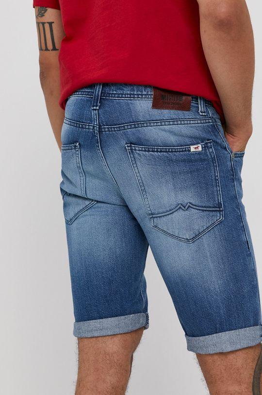 Mustang - Rifľové krátke nohavice  100% Bavlna