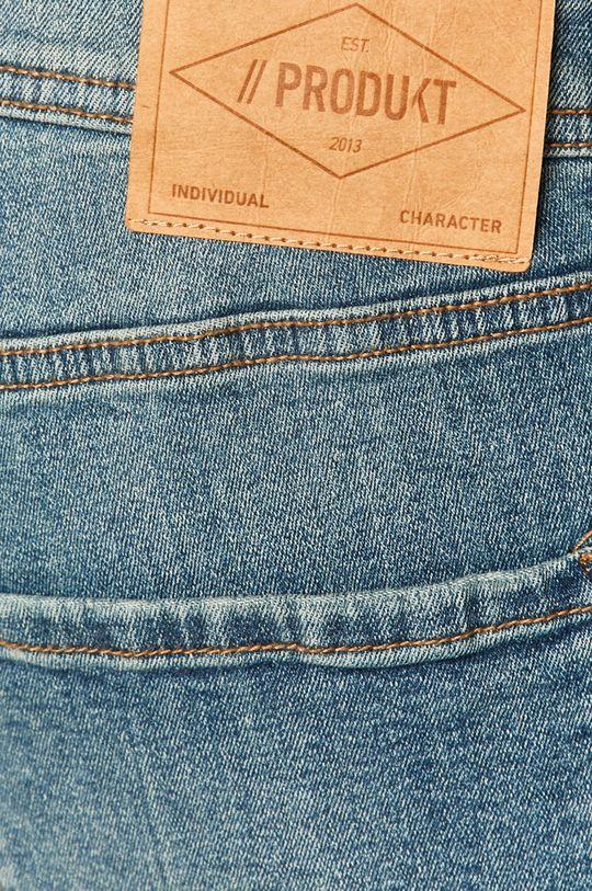 modrá Produkt by Jack & Jones - Rifľové krátke nohavice