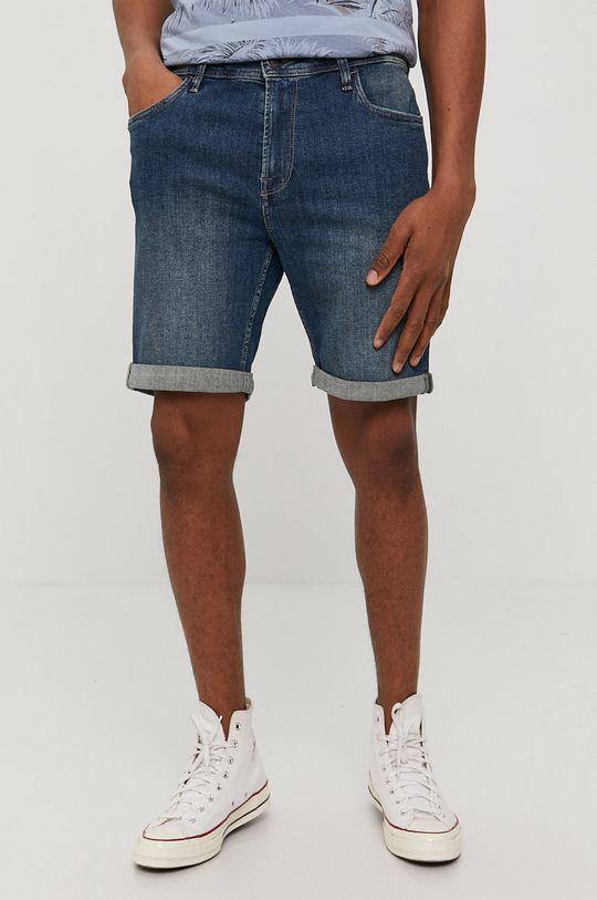 granatowy Produkt by Jack & Jones - Szorty jeansowe Męski
