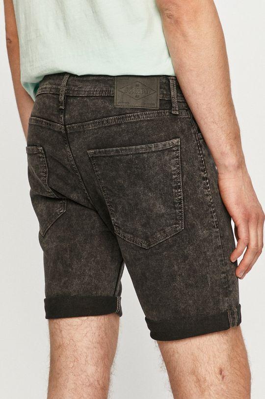 Produkt by Jack & Jones - Rifľové krátke nohavice  Základná látka: 76% Bavlna, 2% Elastan, 22% Polyester