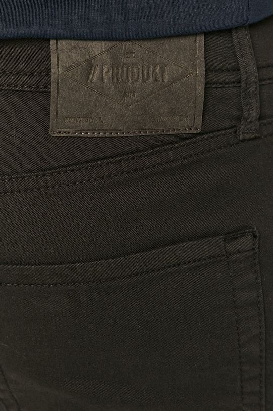 čierna Produkt by Jack & Jones - Rifľové krátke nohavice