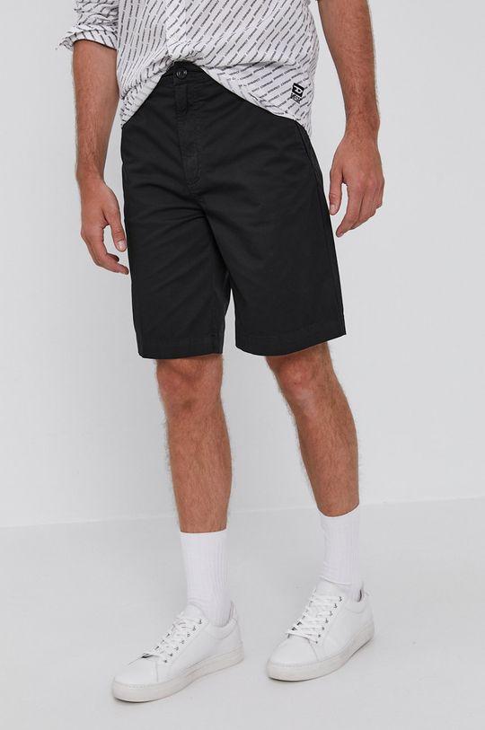 negru Diesel - Pantaloni scurti De bărbați