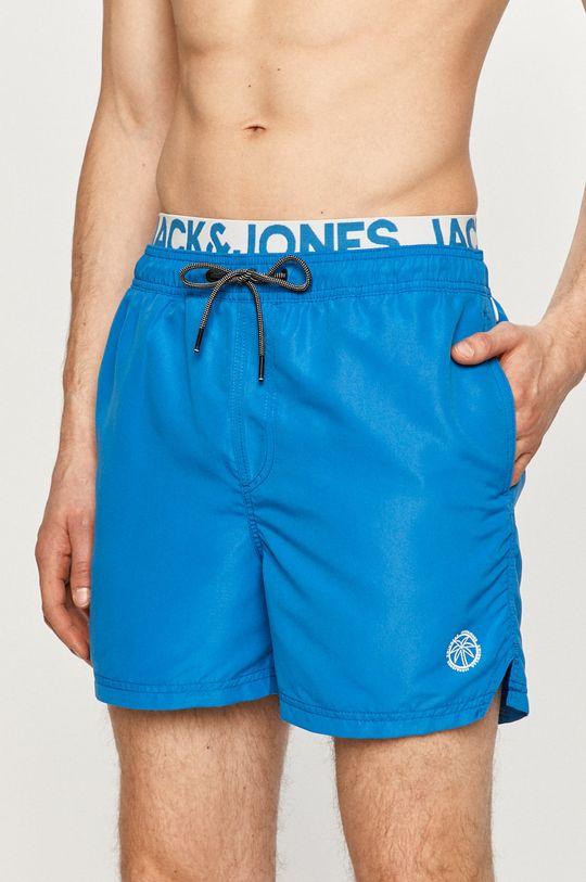 Jack & Jones - Plavkové šortky modrá