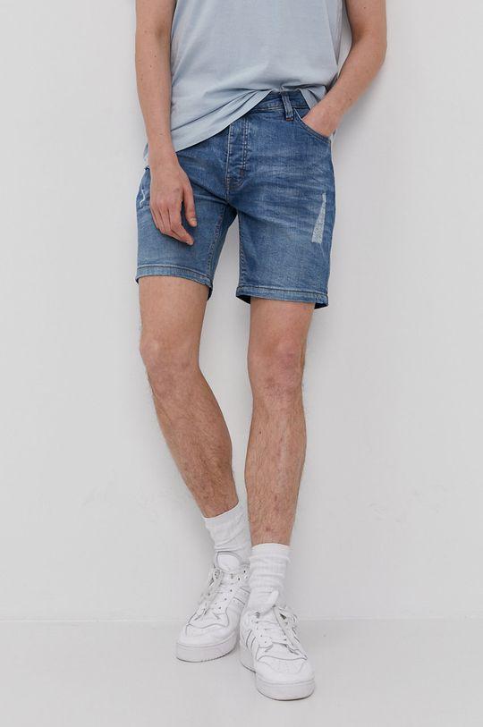 jasny niebieski Brave Soul - Szorty jeansowe Męski