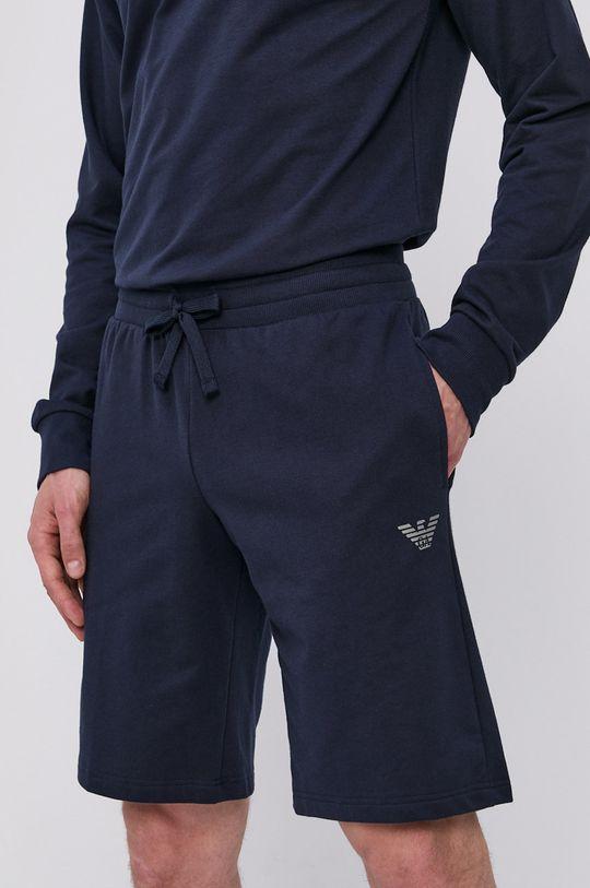 námořnická modř Emporio Armani - Pyžamové šortky Pánský