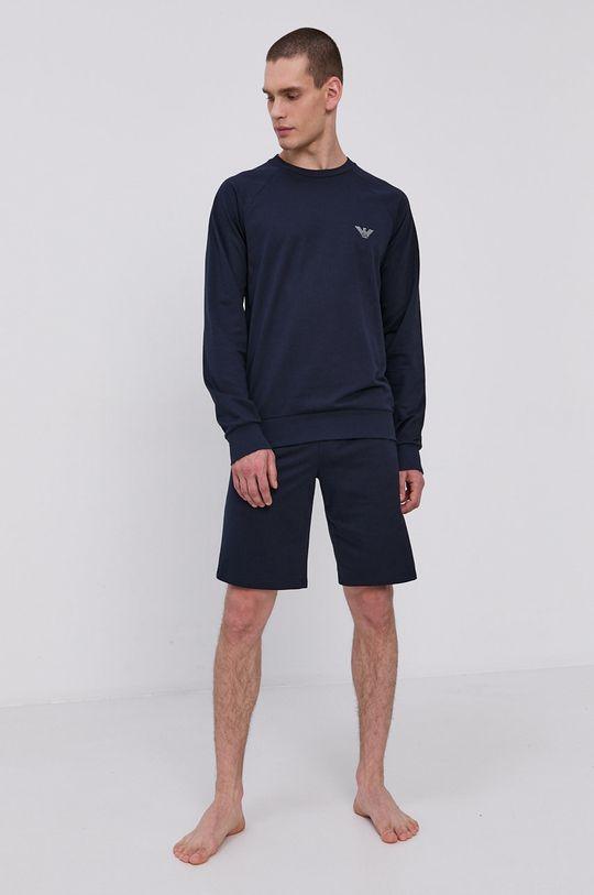 Emporio Armani - Pyžamové šortky námořnická modř