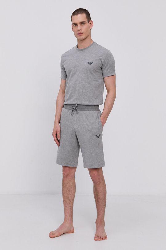 Emporio Armani - Pyžamové šortky šedá