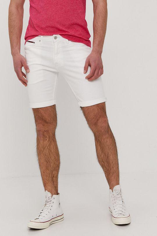 biela Tommy Jeans - Šortky Pánsky