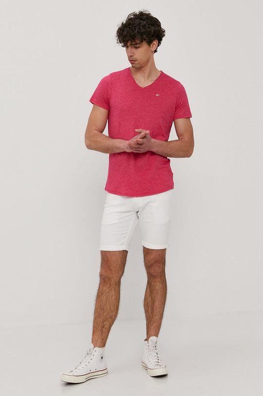 Tommy Jeans - Šortky biela