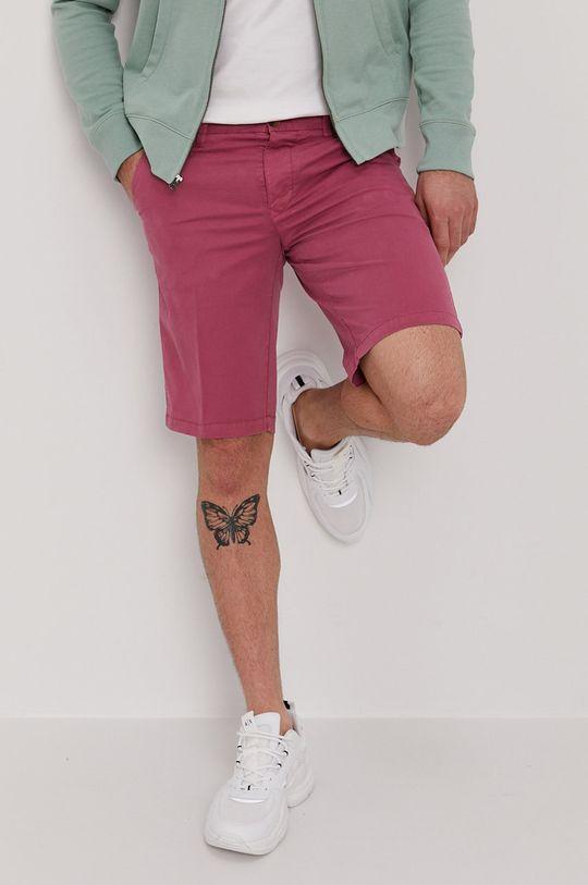 różowy Blauer - Szorty Męski