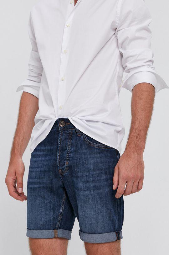 niebieski Strellson - Szorty jeansowe Męski