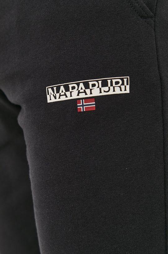 czarny Napapijri - Szorty