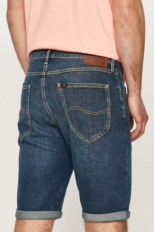 Lee - Rifľové krátke nohavice  84% Bavlna, 1% Elastan, 15% Polyester