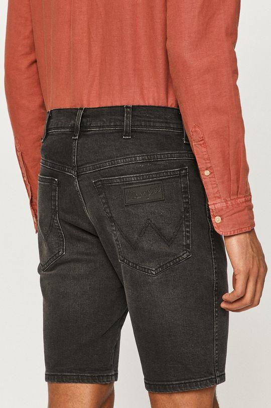 Wrangler - Džínové šortky  98% Bavlna, 2% Elastan