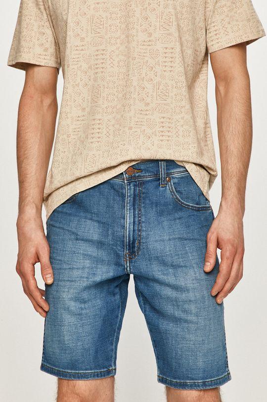 modrá Wrangler - Džínové šortky Pánský